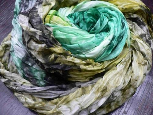 Zelená variace, 180x90 cm