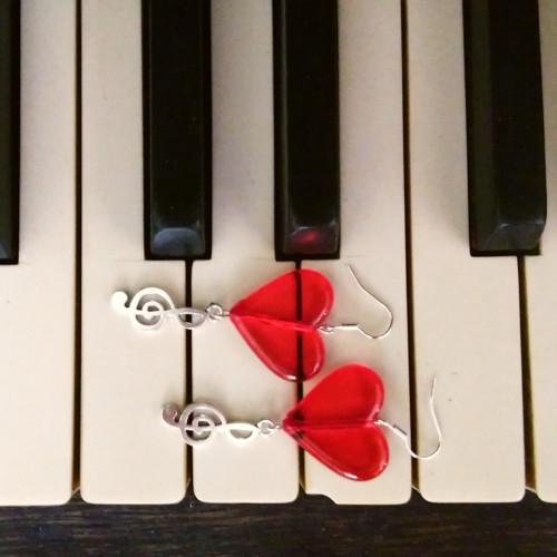 Písně milostné - náušnice