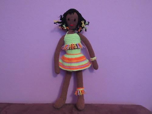 Háčkovaná panenka Kayla II.