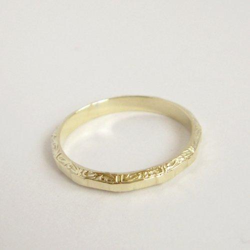 Zlatý prsten pro ženu i pro muže - Au 585/1000