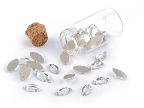 Brouš.kamínky naveta našívací mix v lahvičce