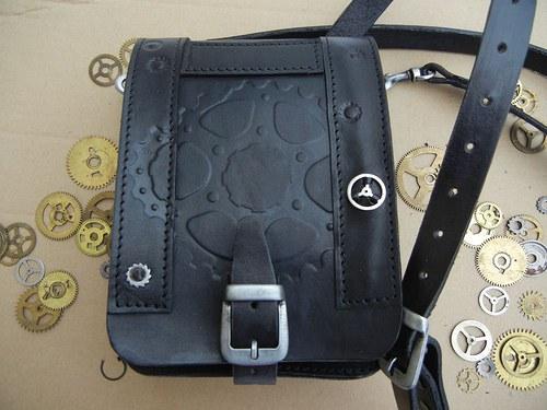 Steampunková příruční taška