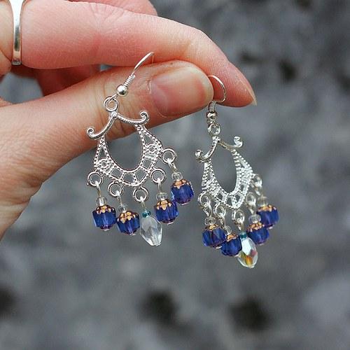 Antoinette - Blue design *VÝPRODEJ*