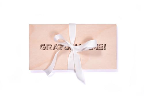 Dárková krabička - Gratulujeme!