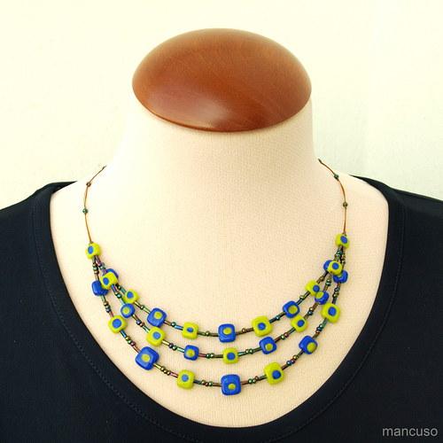 kostičkový náhrdelník II.
