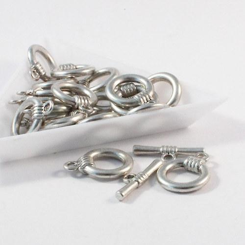 Americké zap. větší 18,5  mm stříbro 3 sety