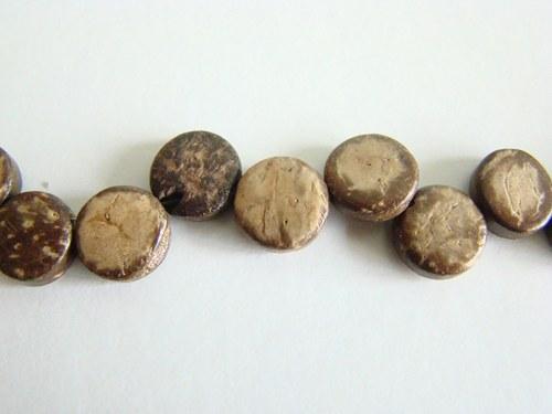 Korálky z kokosu, návlek 50 cm