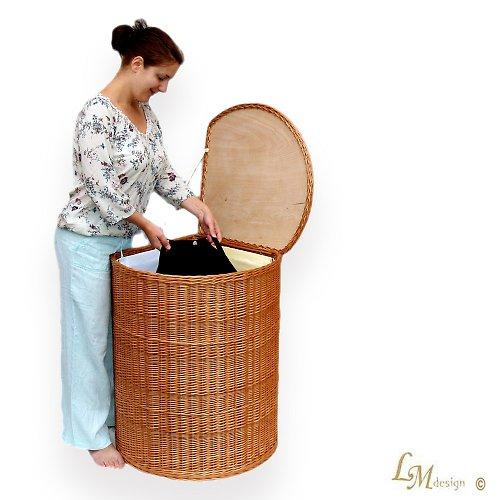 Rohový koš na prádlo 3 komory MAXI
