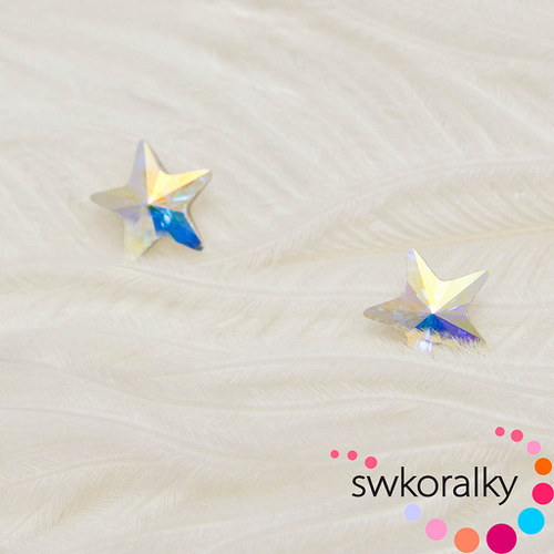 Star Fancy 10  SWAROVSKI ® ELEMENTS - crystal AB