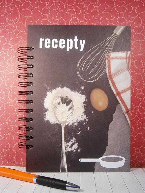 Receptář A5 - šlehané vejce