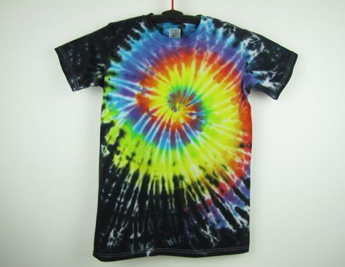 Dětské batikované tričko duhové Fénix, XL