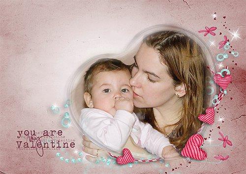 Valentýnská pohlednice č.3
