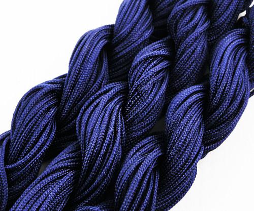 28m 90 stop 30yrd Tmavě Modrá Nylon Kabel Twisted