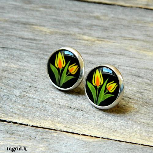 Náušničky Tulipánky