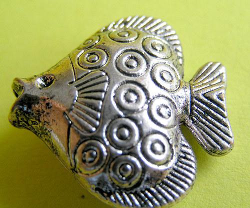 Pokovený korálek - ryba velká