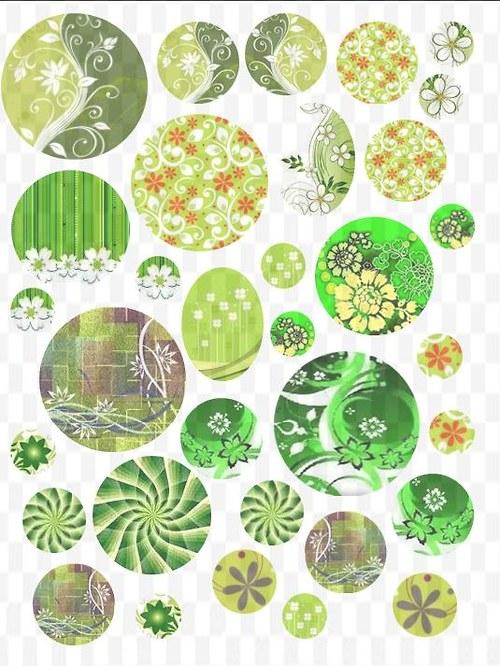 zelený mix