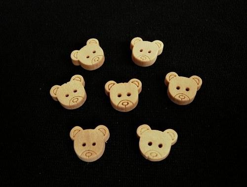 Medvědí hlavičky za 2ks- akce 50%...