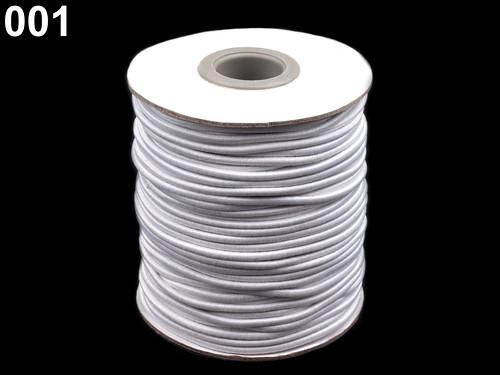 Kulatá pruženka pr.3 mm (5m) - bílá