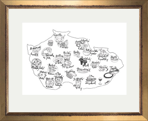 Jídlo Česka - Gastro mapa, Krajské speciality