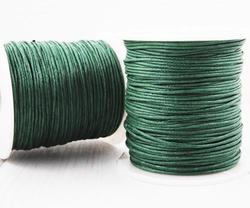 18.3 m 60ft 20yrd Smaragdově Zelené Voskované Bavl