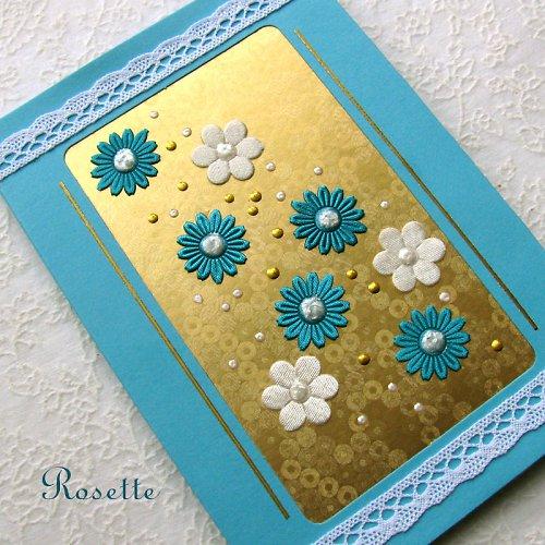 Modrá, zlatá, bílá -  přání