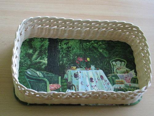 Košíček - posezení v zahradě