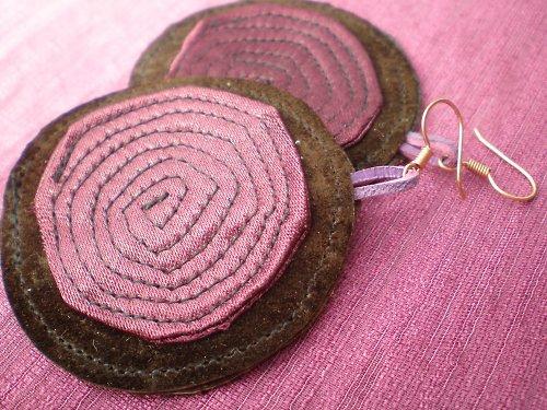 Náušnice ll - kolekce Spirals-SLEVA z 160,-na130,-