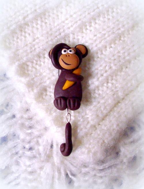 Opička - brož