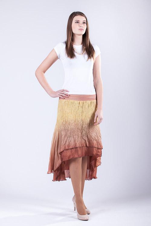 Hedvábná sukně