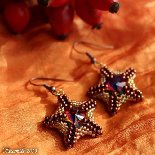 Bronzovo-medové hvězdice