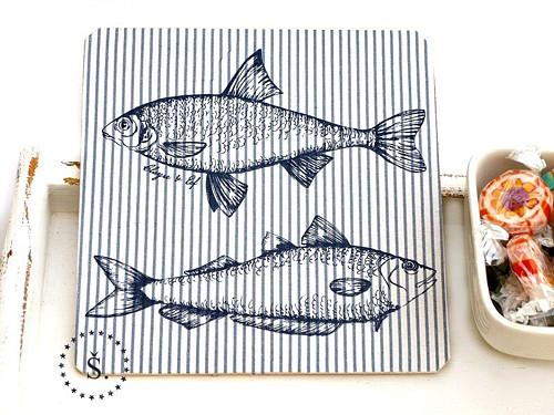 podtácek - pro rybáře