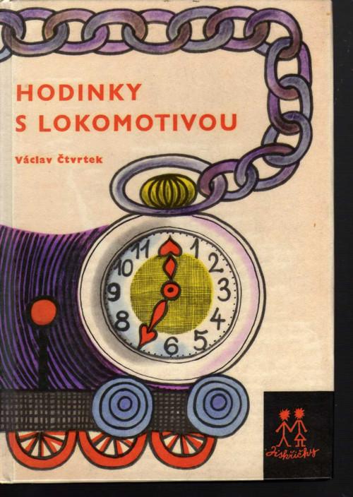 Hodinky s lokomotivou  Václav Čtvrtek