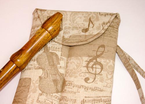 Sopránkové hudební pouzdro