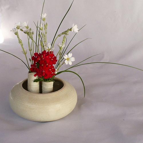 Váza - ikebana - Temelínka