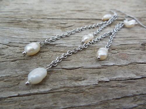dlouhé perličkové