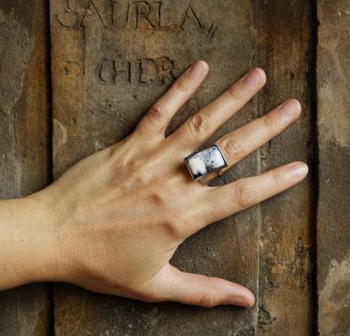 """Nerezový prsten ...\"""" Silver tree \"""""""