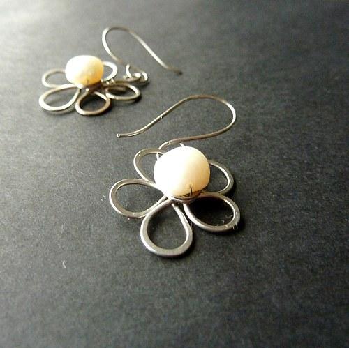 Kytičky s perlemi - chirurgická ocel