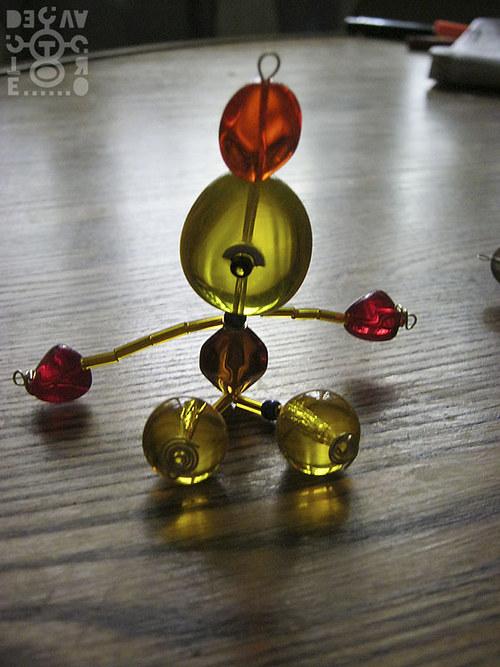 Korálkový robot, model 03-03, (Sluneční démon)