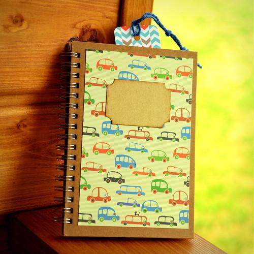 """Zápisník malý \""""Autíčka\"""", A6"""