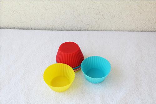 Silikonová forma muffin 2 ks