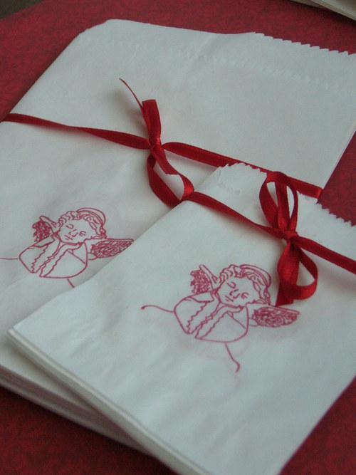 Andělské sáčky na vaše dárky
