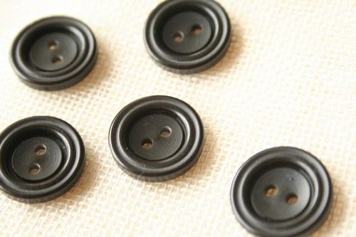 10 černých knoflíčků_1,8 cm