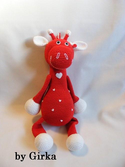Žirafa - Láska v červenom