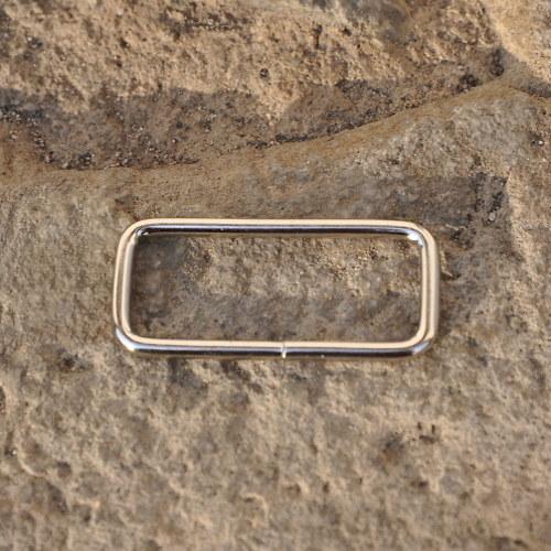 Průvlek - nikl, 28x38 mm