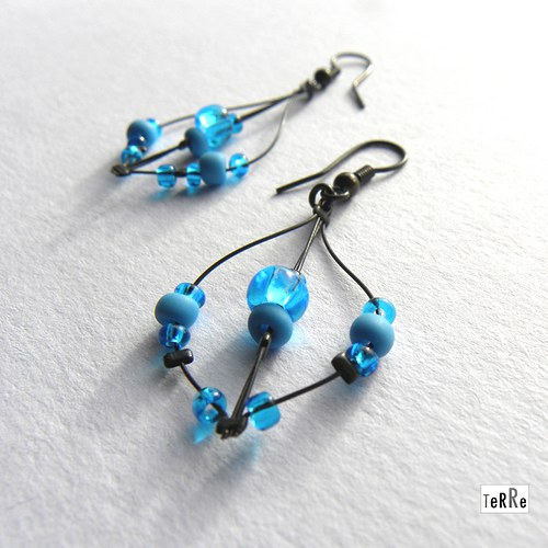 Modré tyrkysové