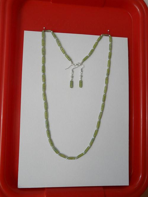 Zelené trubičkové