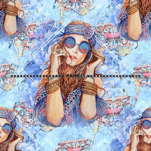 Úpletový panel KOLEKCE BOHO FASHION 50 x 50 cm