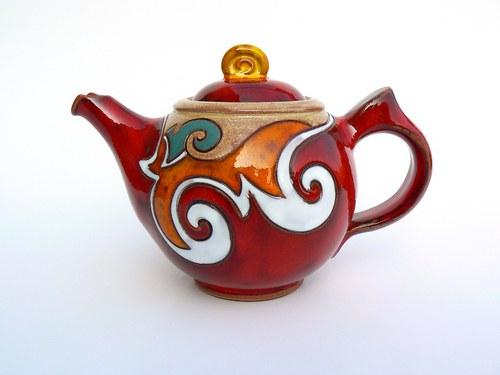 Konvice čajová buclatá
