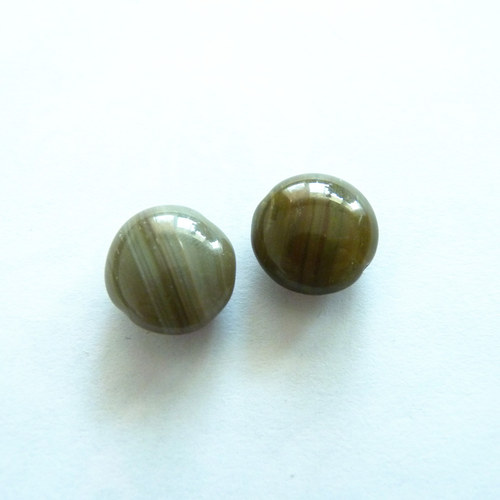 Korálky Zelené lentilky 2 ks