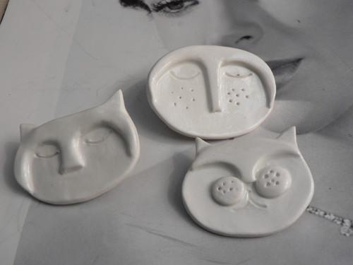 Keramika, Porcelánky Kočičáci. - brož